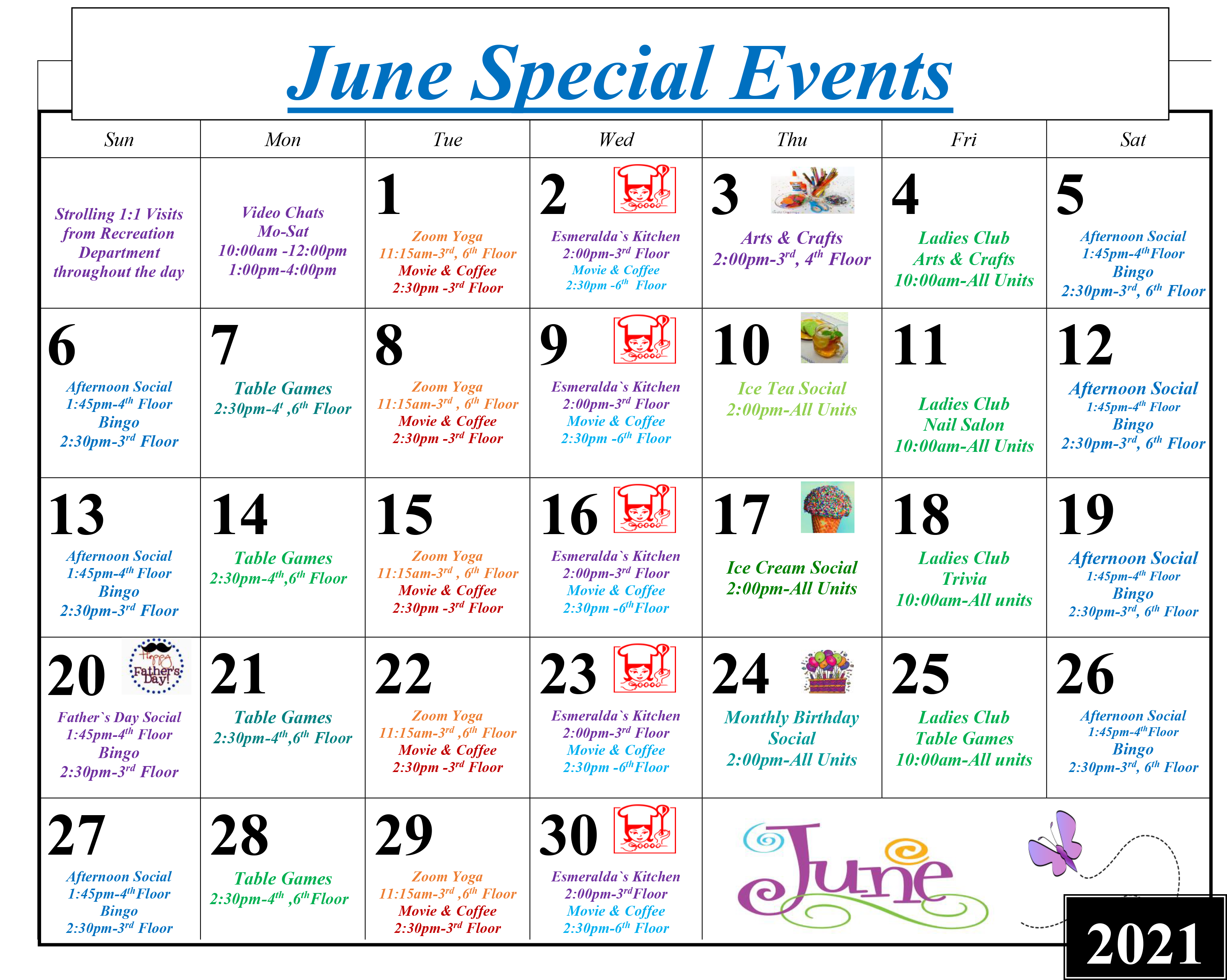 Throgs Neck Special Events June 2021